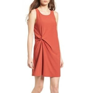 Nordstrom Leith twist front dress